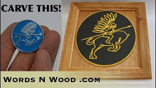 How to turn a Pin into a CNC Carving (WnW #182)