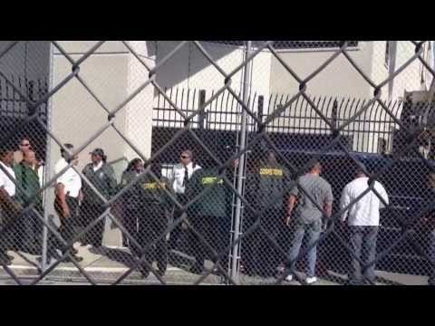 Justin Bieber being released from TGK Miami Dade jail after DUI