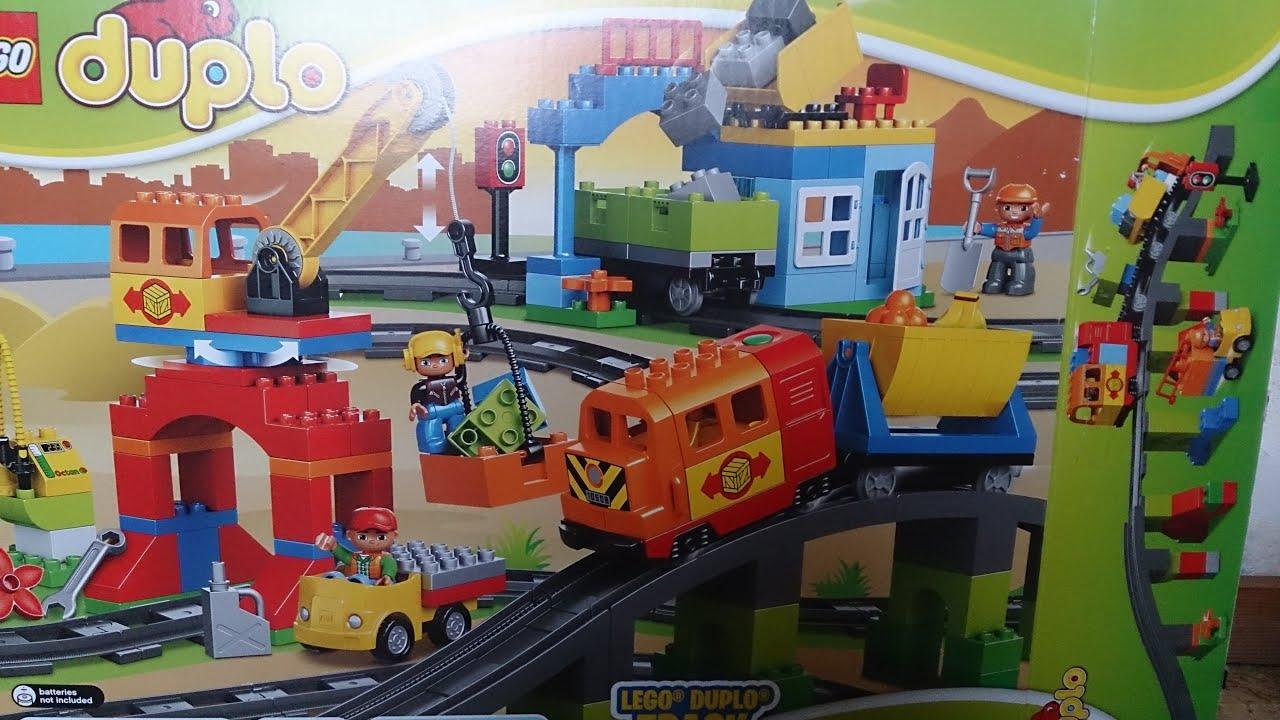 Большая Железная Дорога Лего Дупло - YouTube