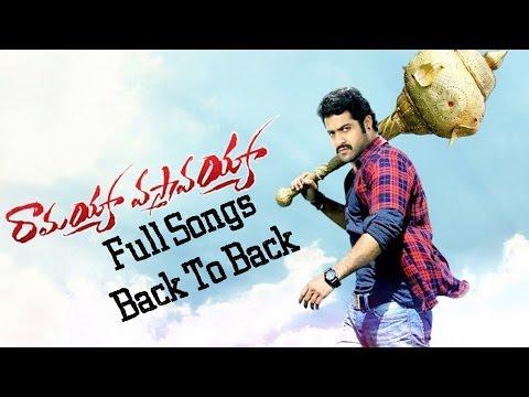 Ramayya Vasthavayya Movie Video Songs Back To Back - Jr.NTR,Samantha,Shruti Haasan