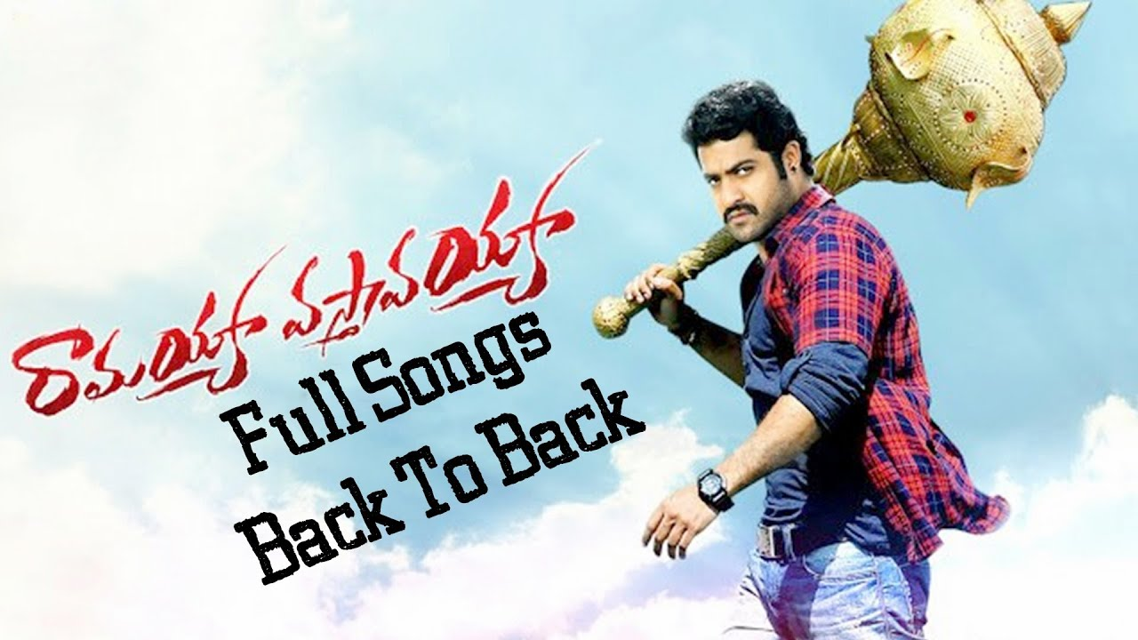 ramayya vasthavayya movie video songs back to back - jr.ntr,samantha