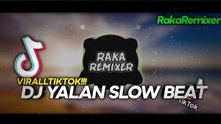 DJ YALAN SLOW BEAT VIRALL TIKTOK - Raka Remixer Remix