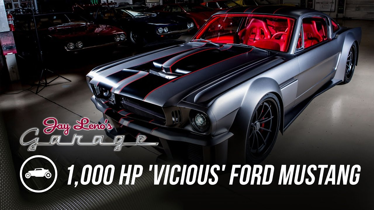 1000 hp vicious 1965 ford mustang jay lenos garage youtube