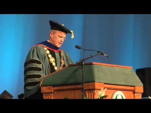 Binghamton University Commencement Spring  - Greeting from President Harvey Stenger