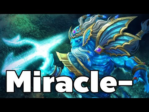 Miracle - Pro Morphling Carry Rank MMR Game