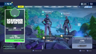 Fortnite Battle Royale Good Player PuRe Clan 670 wins New Dynamite