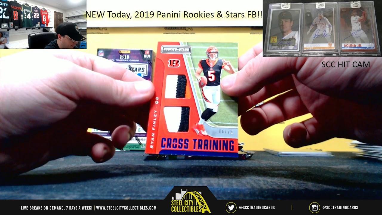 Download 2019 Panini Rookies & Stars Football Hobby 4-Box Random Division Group Break #1 - Cyber Monday Packs
