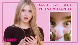 Leni Klum Shows Us the Last Thing on Her Phone | GLAMOUR Germany