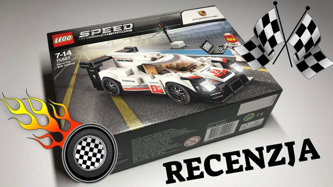 lego speed champions 75887 porsche 919 hybrid recenzja youtube. Black Bedroom Furniture Sets. Home Design Ideas