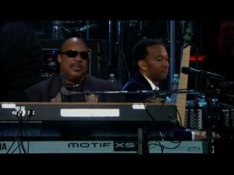 "Stevie Wonder feat. John Legend ""The Way You Make Me Feel"""