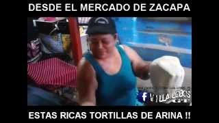 MERCADO DE ZACAPA ESTAS RICAS TORTILLAS DE ARINA !!