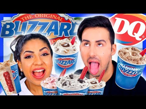 Dairy Queen BLIZZARD Taste Test!