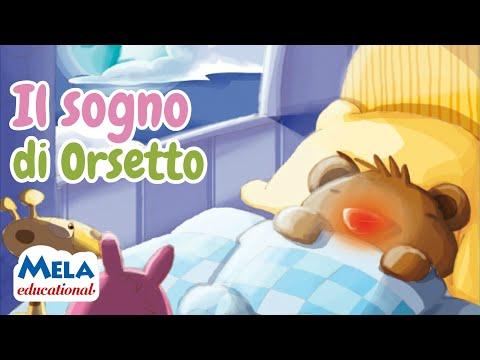 Il sogno di orsetto - Audio racconto di 5 minuti per bambini - Canzoni per bambini di Mela Music
