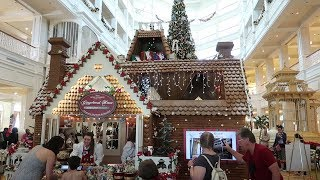 Giant Gingerbread House Displays at Walt Disney World Resorts! | Disney Fun For Free!
