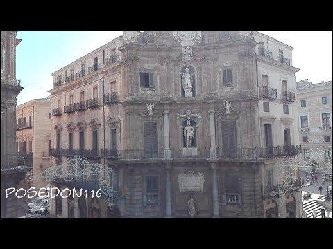 Il centro di Palermo i Quattro Canti