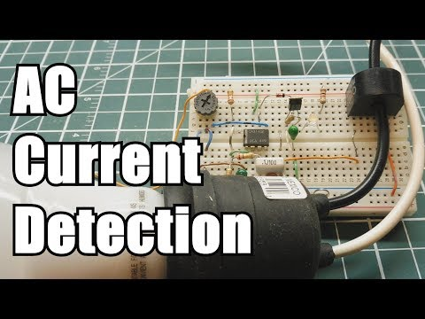 AC Current Detection Interface