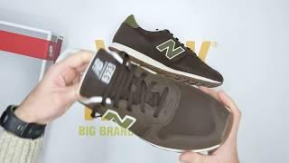 New Balance ML373 - Brown - Unboxing   Walktall