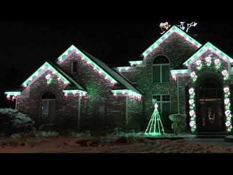 Christmas Lights Omaha 2018, Part One