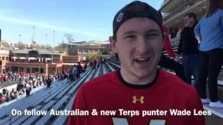 Former Terps kicker Brad Craddock talks DJ Durkin & NFL Draft
