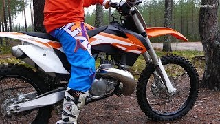 KTM 250 SX 2-Stroke - First Test Ride