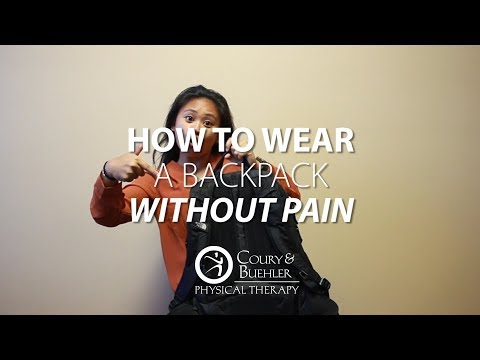 How to Wear Your Backpack the Right Way