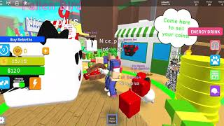 Roblox playing magnent simulator and geting $490