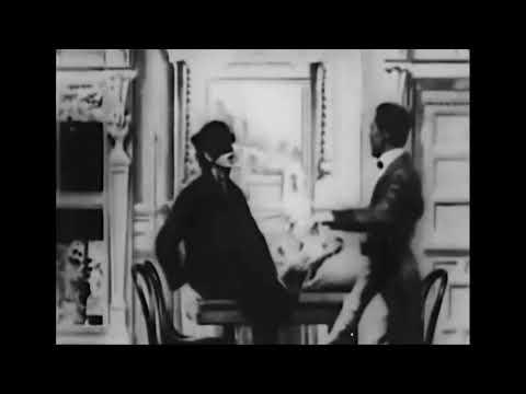 Sherlock Holmes Baffled – Arthur Marvis, Arthur Conan Doyle (1900) Primera película de detectives