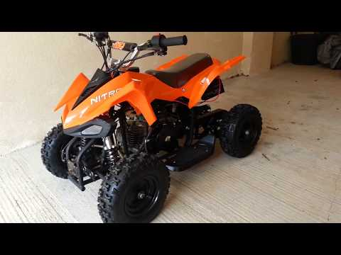 Nitro Python 50cc 4 Stroke Mini Quad ATV OFF road quad