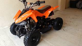 Nitro Python 50cc 4 Stroke Mini Quad ATV OFF road quad