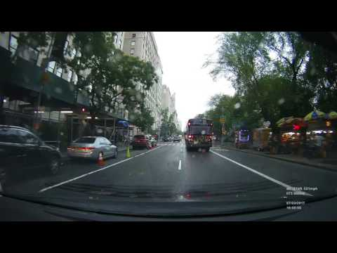 Real Time Drive - New York City (Fifth Avenue) to Vernon, CT