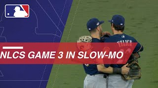 NLCS Gm3: Watch Slo-mo footage of Game 3 of the NLCS