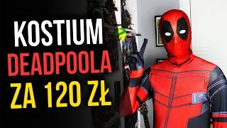 Kostium Deadpoola za 120 zł - Recenzja