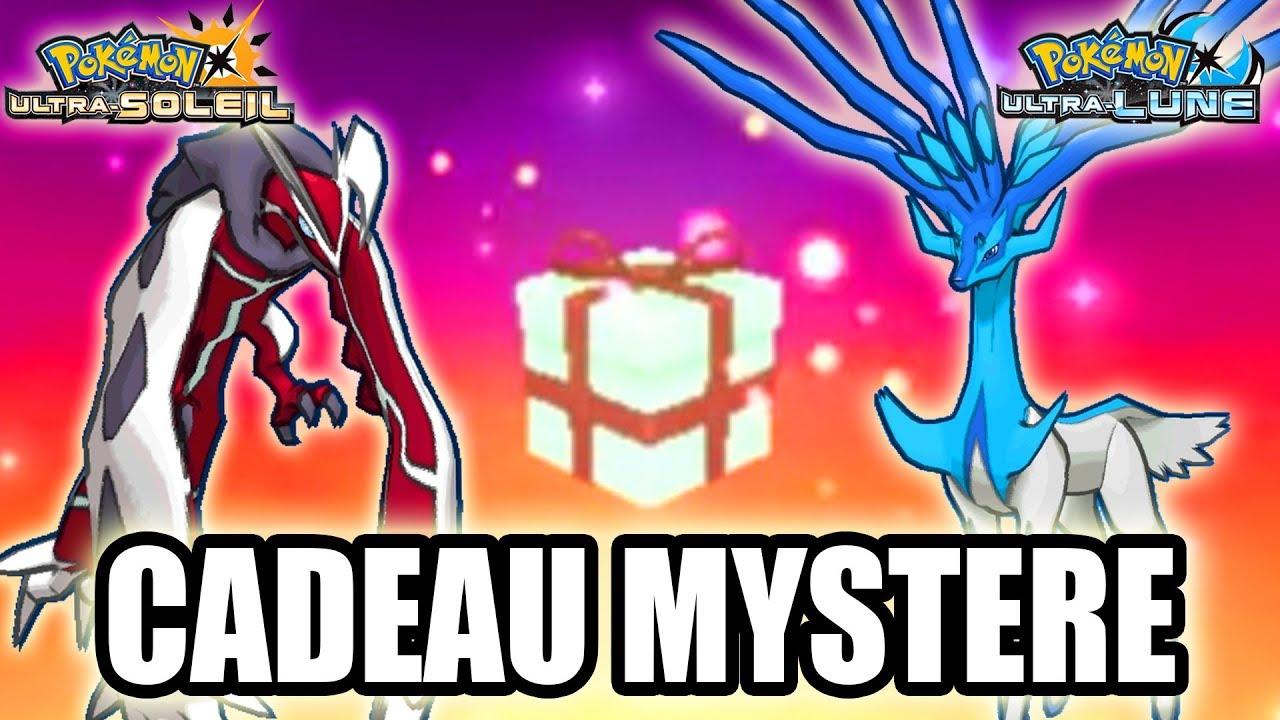 Recevoir Xerneas Et Yveltal Par Cadeau Mystere Dans Pokemon Ultra Soleil Et Ultra Lune