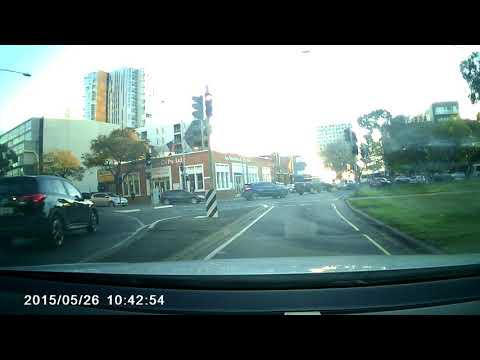 Dangerous Road Design in Adelaide CBD