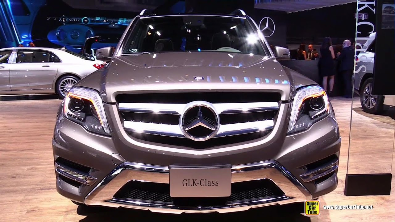 2015 Mercedes Benz GLK250 BlueTec 4Matic Exterior And