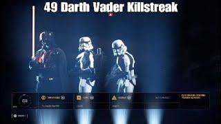 49 Darth Vader Killstreak - Star Wars Battlefront ll