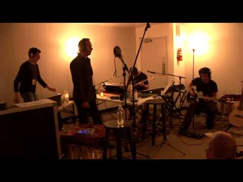 """Reptile"" live 6.23.06. Trent Reznor, Peter Murphy, Atticus Ross, Jeordie White."