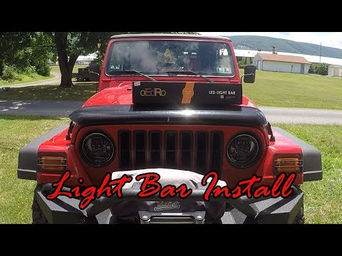oEdRo Led Light Bar Install
