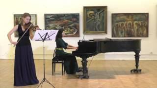 """Антонио Вивальди """"Зима"""", цикл """"Времена Года"""" Op.8 No.4 27.12.2015 Мария Шагинова & Анна Доценко"""