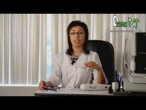 Дермалайт — лампа для лечения Псориаза и Витилиго!