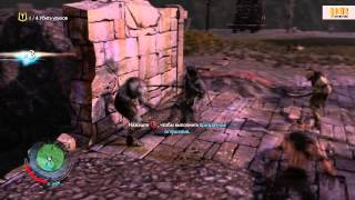 MIDDLE-EARTH: SHADOW OF MORDOR / ОБЗОР ИГРЫ НА РУССКОМ / XBOX 360 GAMEPLAY