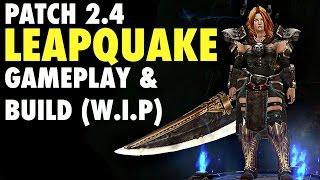 "Diablo 3 - Leapquake Barbarian Patch 2.4 and Season 5 ""Earth Set"""