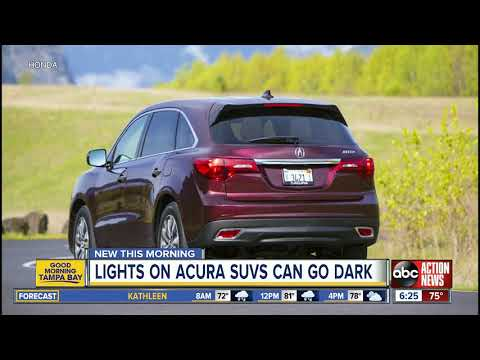 Acura Recalls More Than 360K SUVs Because Tail Lights Can Go Dark