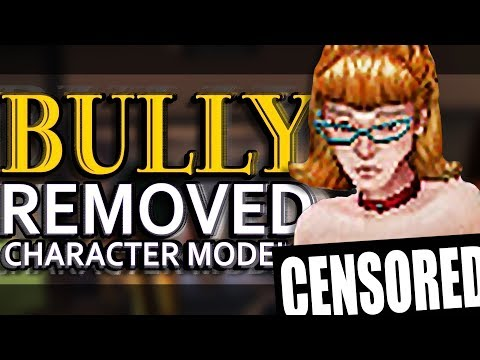 Character Models Rockstar HAD TO REMOVE from BULLY