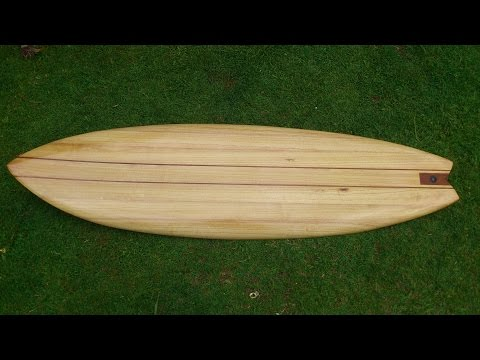 Wooden Surfboard Build