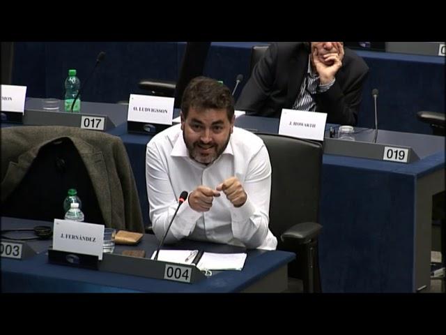 Intervención sobre el programa Invest EU