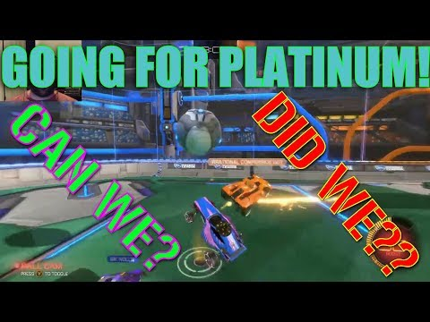 GETTING OUR RANKS! DID WE GET TO PLATINUM?!?!