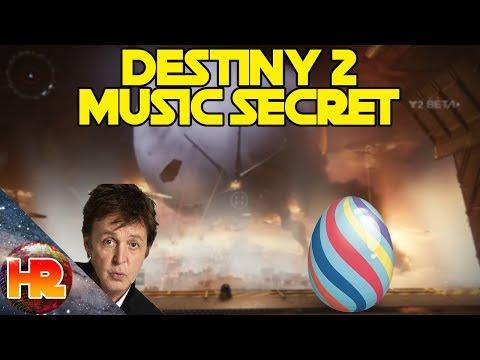 Destiny 2 Easter Egg - Paul McCartney Song