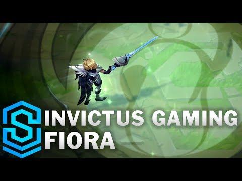 Invictus Gaming Fiora Skin Spotlight - League of Legends