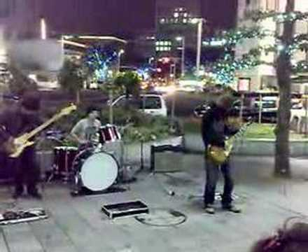 Street jam band in Nagoya